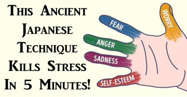 Stress verminderende massage